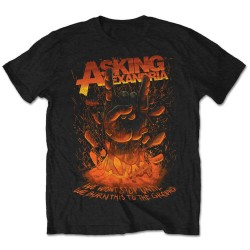 Tričko Asking Alexandria - Metal Hand