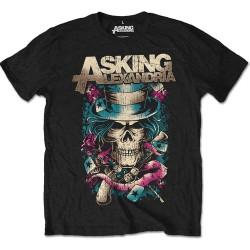 Tričko Asking Alexandria - Hat Skull