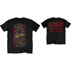 Tričko Anthrax - Evil King World Tour