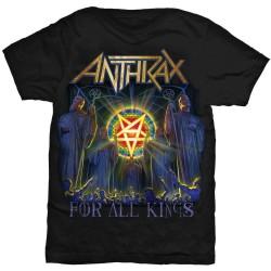 Tričko Anthrax - For All Kings
