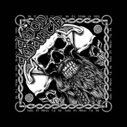Šátek (Bandana) Amon Amarth - Bearded Skull