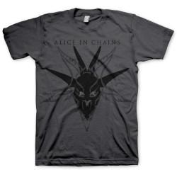 Tričko Alice In Chains - Black Skull