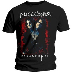 Tričko Alice Cooper - Paranormal Splatter
