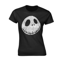 Tričko Ukradené Vánoce Tima Burtona - Cracked Face
