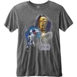 Tričko Star Wars - The Last Jedi - Droids