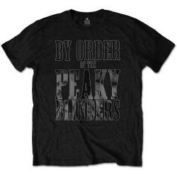 Tričko Peaky Blinders - By Order Of Peaky Blinders