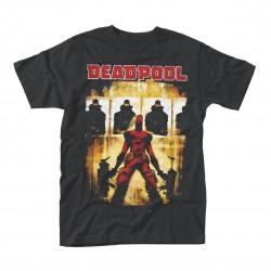 Tričko Deadpool - Target Practice