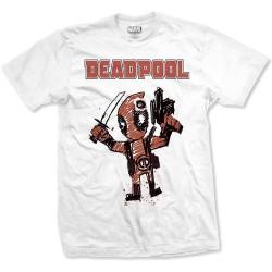 Tričko Deadpool - Cartoon