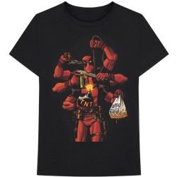 Tričko Deadpool - Arms