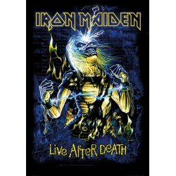 Vlajka Iron Maiden - Live After Death
