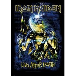 Vlajka Iron Maiden - Live After Death