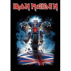 Vlajka Iron Maiden - Motorcycle