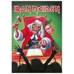 Vlajka Iron Maiden - Eddie The Judge