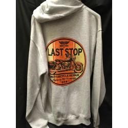Pánská mikina s kapucí - Last Stop