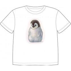 Dětské tričko s potiskem zvířat - Tučňák