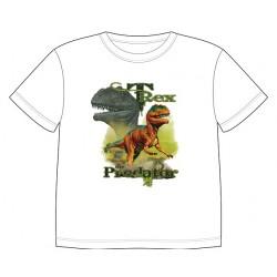 Dětské tričko s potiskem zvířat - T-Rex