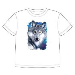 Dětské tričko s potiskem zvířat - Vlk