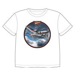Dětské tričko s dopravními prostředky - Letadlo Connie