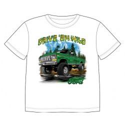 Dětské tričko s dopravními prostředky - Ford Pick-Up