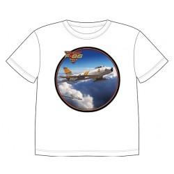 Dětské tričko s dopravními prostředky - F-86