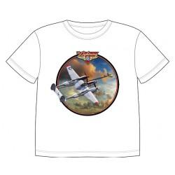 Dětské tričko s dopravními prostředky - P-38