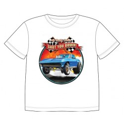Dětské tričko s dopravními prostředky - Chevrolete Corvette 1963