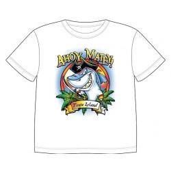 Dětské tričko s dobarvujícím se potiskem – Žralok pirát