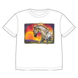 Dětské tričko s dobarvujícím se potiskem – Kůň