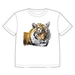 Dětské tričko s dobarvujícím se potiskem – Tygr