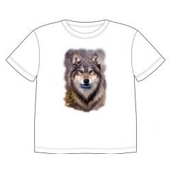 Dětské tričko s dobarvujícím se potiskem – Vlk
