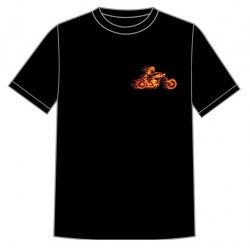 Dětské motorkářské tričko - Ghost Rider