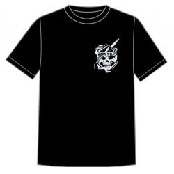 Dětské motorkářské tričko - Born Wild