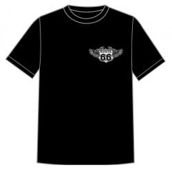 Dětské motorkářské tričko - Route 66