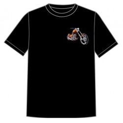 Dětské motorkářské tričko - Chopper