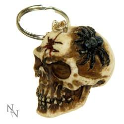 Klíčenka - Skull Spider
