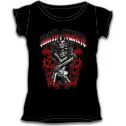 Dámské tričko - Santa Muerte