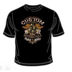 Pánské tričko  - Custom Motorcycle