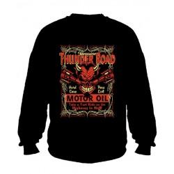Pánská mikina bez kapuce - Thunder Road