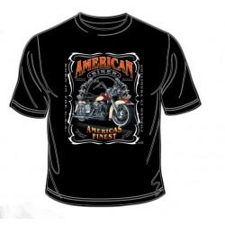 Pánské tričko  -  American Biker