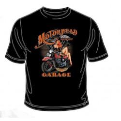 Pánské tričko  -  Motorhead Garage