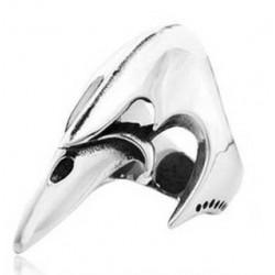 Prsten z chirurgické oceli - Zobák