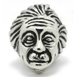 Prsten z chirurgické oceli - Einstein