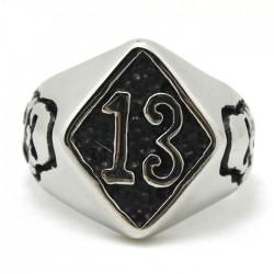 Prsten z chirurgické oceli - 13