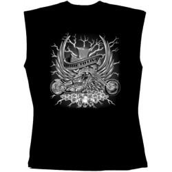 Pánské tričko bez rukávů - Ride To Live