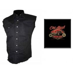 Pánská košile s potiskem - Old Skool Gearhead