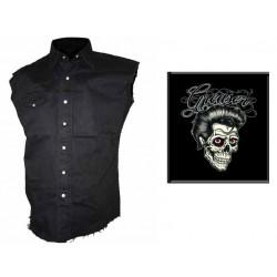Pánská košile s potiskem - Greaser