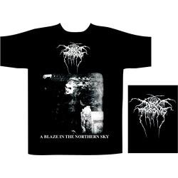 Pánské tričko se skupinou Darkthrone - A Blaze In The Northern Sky