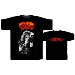 Pánské tričko se skupinou Dio - Flaming