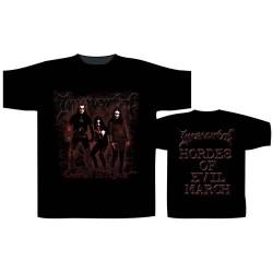Pánské tričko Immortal - Damned In Black