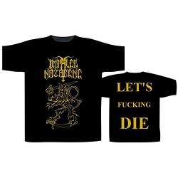 Pánské tričko Impaled Nazarene - Let's Fucking Die